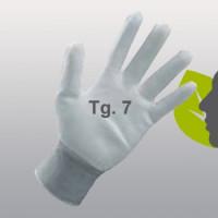 Guanti sintetici spalmati in poliuretano bianchi