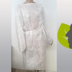 Camice in PLP bianco