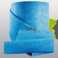 BLUE ANTIBATTERICO tessuto non tessuto in RAYON